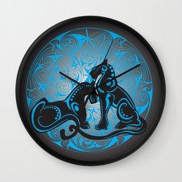 Celtic cats Wall Clock