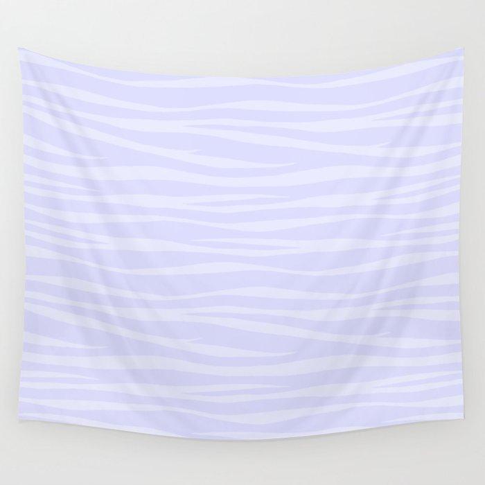 Zebra Print - Lavender Sorbet Wall Tapestry