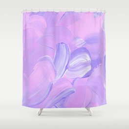 Daydreaming - Purple Shower Curtain