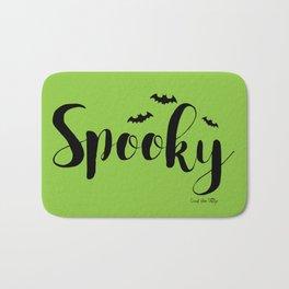 Spooky - Green Bath Mat