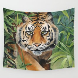 Jungle Cat Wall Tapestry