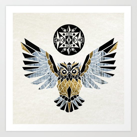owl king! Art Print