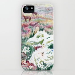 Wild chamomiles iPhone Case