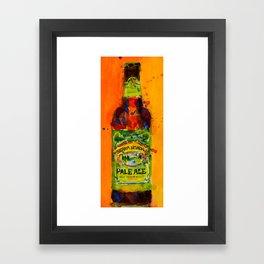Sierra Nevada Pale Ale Beer Art Print from original Watercolor - Man Cave - College Dorm -Bar Art Framed Art Print