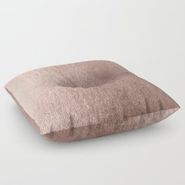 Moon Dust Rose Gold Floor Pillow
