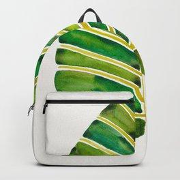 Elephant Ear Alocasia – Green Palette Backpack