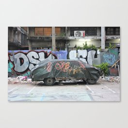 Free To A Good Home Canvas Print