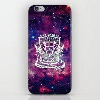fandom iPhone & iPod Skins featuring Galaxy Fandom Academy by Thg Fashion