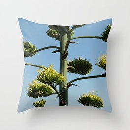 The Giant Succulent Throw Pillow