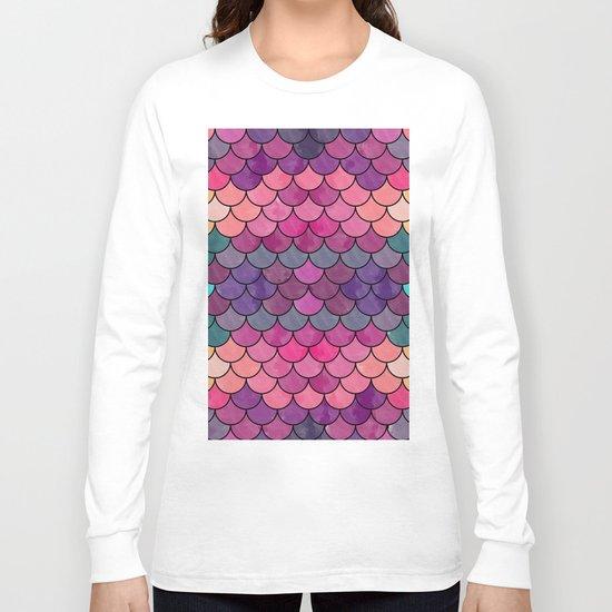 Watercolor Lovely Pattern VVXVIII Long Sleeve T-shirt