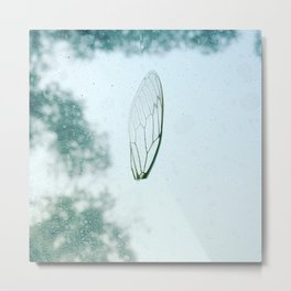 Word on a Wing Metal Print