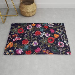 Midnight Garden XIX Rug