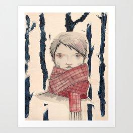 El del Bosc (A Forest) Art Print