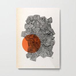 - paradox - Metal Print