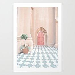 A French Door Art Print