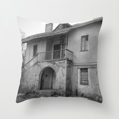 Lost on a half Throw Pillow