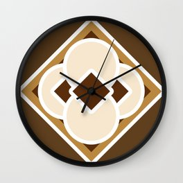 Smore and Dark Hot Chocolate Wall Clock