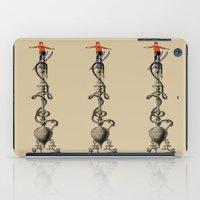 ski iPad Cases featuring I Ski by Joe Pansa