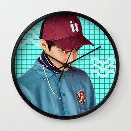 Kim Junmyeon Wall Clock
