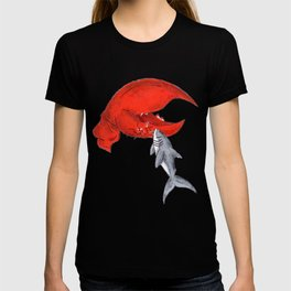Great White Lobstah Lovah T-shirt
