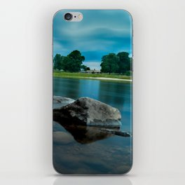 River Landscape Photography - The Banks of the Tay, Scotland iPhone Skin