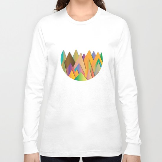 Mountains of Colorcombinations Long Sleeve T-shirt