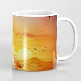 surreal ship adventure Coffee Mug