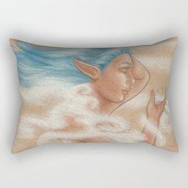 The Wind Goddess Rectangular Pillow
