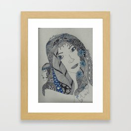 Maiden, Mother and Crone Framed Art Print