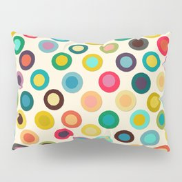 ivory pop spot Pillow Sham