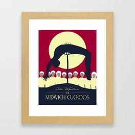 Midwich Cuckoos Design Framed Art Print