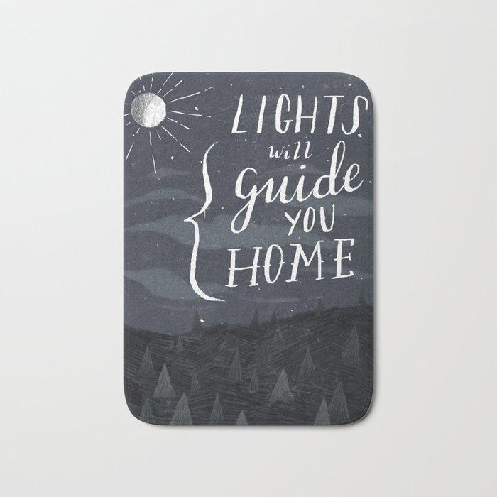 Lights Will Guide You Bath Mat