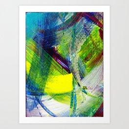 Sun Flare Art Print
