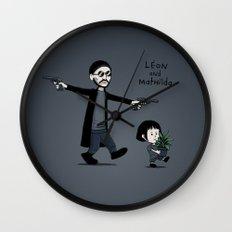 Leon and Mathilda Wall Clock