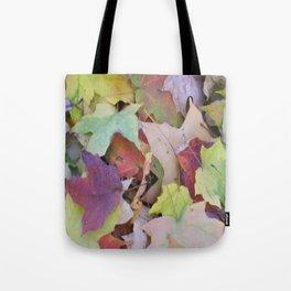 Blanket of leaves Tote Bag