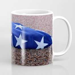 American Flag Folded Coffee Mug