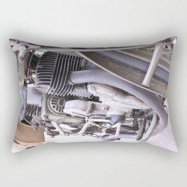 Old motorbike Rectangular Pillow