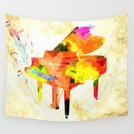 Grand Piano Wall Tapestry