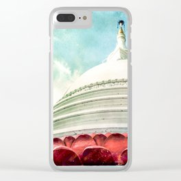 Buddha House Clear iPhone Case