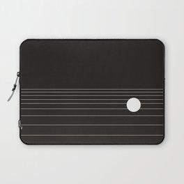 Calm water Lake Moon Minimal Laptop Sleeve