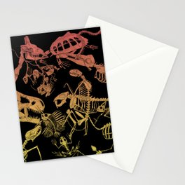 Skeletons Stationery Cards