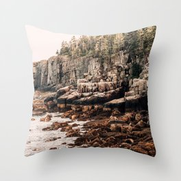 Northern Glow Throw Pillow