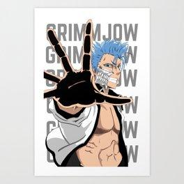 Grimmjow Jeagerjaques Art Print