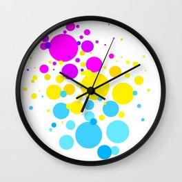 Circles Pan Wall Clock