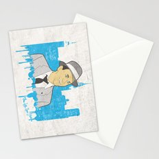These Litte Town Blues Stationery Cards