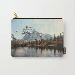 lets go on an adventure Carry-All Pouch