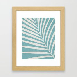 Vintage Palm Frond Framed Art Print