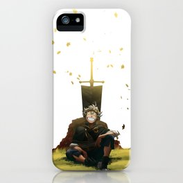 Time for a rest iPhone Case