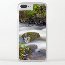 Cement Creek #1 Clear iPhone Case