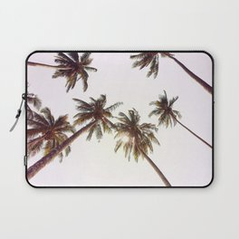 Palm Trees And Pink Sky Laptop Sleeve